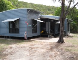 Researcher accommodation at  JCU's Orpheus Island Research Station