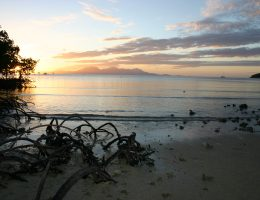 Another Orpheus Island sunset with Hinchinbrook Island in the background